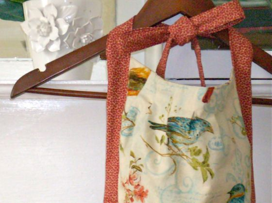 Apron from (mostly) sewn